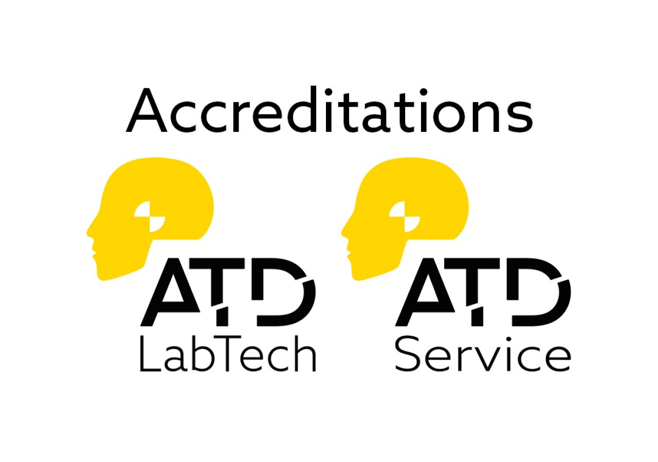 Accreditations ATD-LabTech and ATD-Service